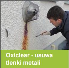 OxiClear - usuwa zacieki z rdzy
